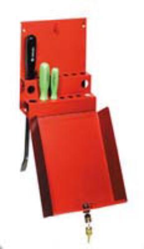 Sunex 8008 Locking Screwdriver Prybar Holder For Service Cart