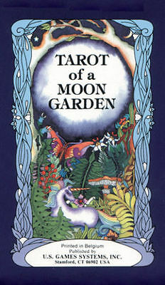Tarot of a Moon Garden Deck Brand New Factory Sealed Karen Marie Sweikhardt
