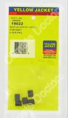 Yellow Jacket 19022 Recovery Pliers Gasket Set 5 Pak