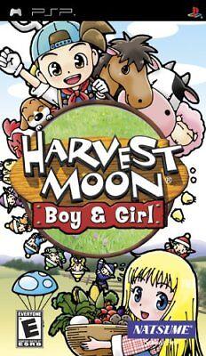 Natsume Harvest Moon: Boy & Girl Psp Sony Psp, Sony Psp