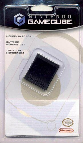 Official Nintendo GameCube Memory Card 251 16MB Genuine Brand New