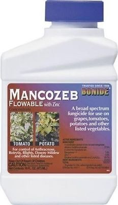 New Bonide 862 Pint Concentrated Mancozeb Garden Plant Insect Fungicide 0143917