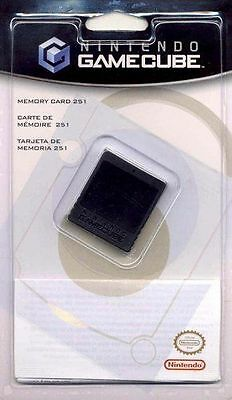 Official Nintendo GameCube Memory Card 251 16MB Genuine Brand New