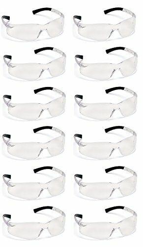 Pyramex ZTEK S2510S CLEAR Safety Glasses Sport Work Eyewear Z87+  12 Pair/1 Doz Business & Industrial