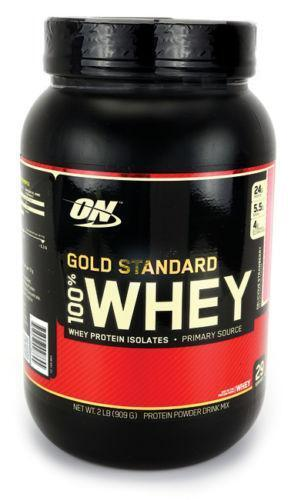 Gold standard 100 whey results