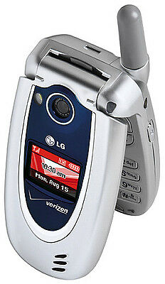LG VX5200 - Silver Blue (Verizon) Cellular Phone on Rummage