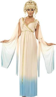 Damen Grichischer Prinzessin Göttin Verkleidung Kostüm Outfit Toga Party - Römische Party Kostüm