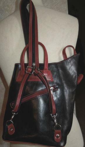 Used Leather Backpack   eBay