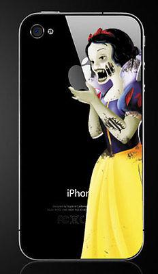 Zombie Snow White (Zombie Snow White Holding Apple iPhone 7 Plus Vinyl Decal)
