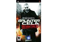PS3 - Tom Clancy's Splinter Cell Essentials (PSP) PEGI 16+ Strategy: Stealth