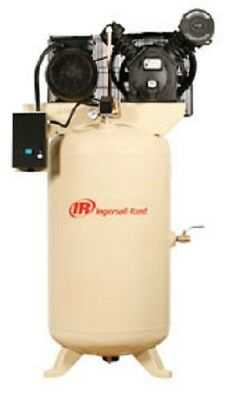 Ingersoll 2475N7.5-V1 7.5HP 230/1 2475N7.5-V Two Stage Cast Iron Air...