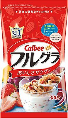 From Japan Calbee Fruit granola 380g Cereal