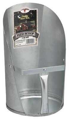 Little Giant 4-quart Galvanized Feed Scoop