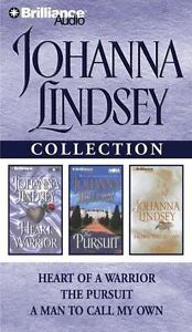 Johanna Lindsey Collection, Heart of a Warrior, The Pursuit, a Man to call my...