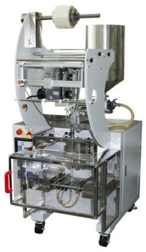 EntrePack Liquid Vertical Form Fill Seal Sachet Machine VFFS with Piston Filler