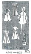 Vintage Mail Order Doll Pattern
