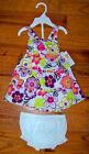Small Wonders Sleeveless Dresses (Newborn - 5T) for Girls
