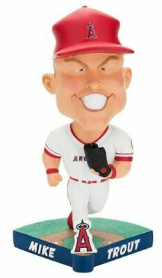 los angeles angels mike trout caricature bobblehead