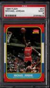 1986 Fleer Michael Jordan PSA 9