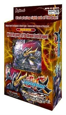X-SD01: Demon Lord Dragon of Tempest - Future Card Buddyfight X Start Deck