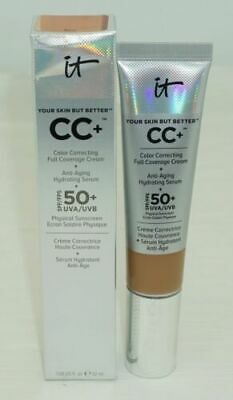 IT Cosmetics Your Skin But Better CC+ Cream Anti-Aging Serum SPF 50  Rich 1fl