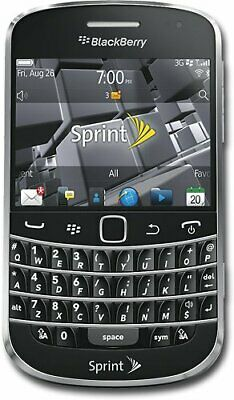 BlackBerry Bold 9930 - Black - Sprint (Unlocked) GSM 3G Qwerty Touch Smartphone