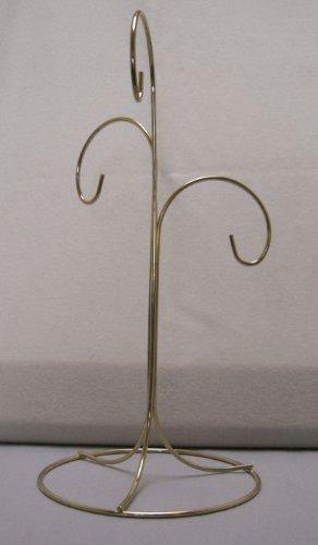 TRIPAR SS-TRI-34122 3 Arm Brass Finish Ornament Stand