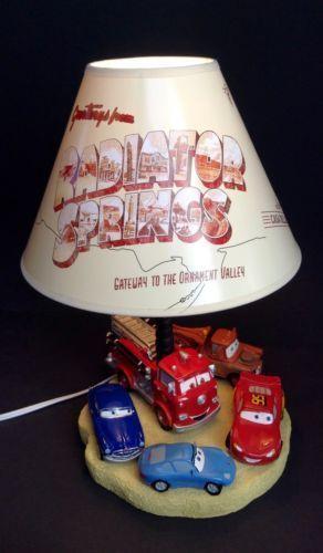 Disney Pixar Cars Lamp Ebay