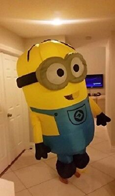 US SELLER Minion Despicable Me 2 Inflatable Costume Cosplay Adult Size