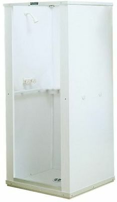Shower Enclosure With Base Stall Kit Walk In Standing Bathroom White 32x32x75