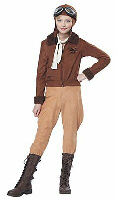 California Costumes - Amelia Earhart/Aviator Girl's Costume