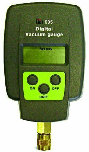 TPI 605 Digital Vacuum Gauge (0 to 12,000 microns) - AUTHORIZED DISTRIBUTOR