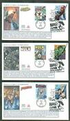 Marvel Super Hero Stamps