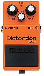 BOSS Audio DS1 Distortion Guitar Pedal, Perfect Condition.