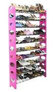 Pink Shoe Organizer