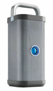 Brookstone Big Blue Party Wireless Portable Speaker System - Blue