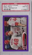 2012 Topps Chrome Mike Trout
