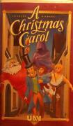 A Christmas Carol VHS