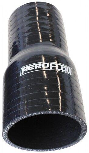 "22mm - 16mm (0.85"" - 0.63"") Straight Silicone Reducer Hose Black AeroFlow"