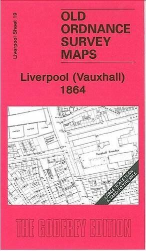 MAP OF LIVERPOOL (VAUXHALL) 1864