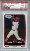 2012 Bowman Chrome Oscar Taveras