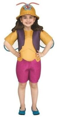 NEW Beat Bugs BUZZ Halloween Costume Toddler Girls Small 2T/3T Netflix - Toddler Bug Costumes