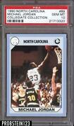 Michael Jordan North Carolina Card