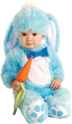 Blue Baby Rabbit Child Fancy Dress Kids Easter Bunny Animal Costume 0-18 Months - Rabbit Costume Baby