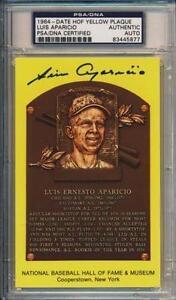 Luis Aparicio Baseball Ebay