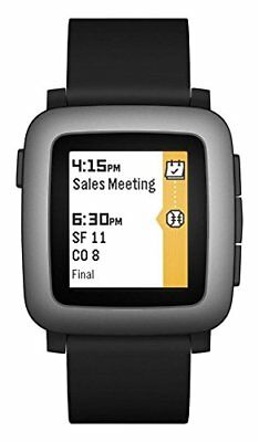 Pebble Time Smartwatch - Black 14