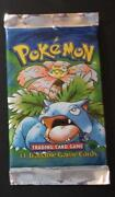 Pokemon Base First Edition Booster