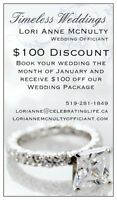 $100 Off Officiant - ONLY ONE WEEK LEFT!