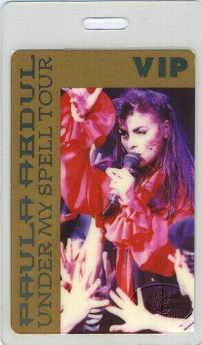 PAULA ABDUL 1993 LAMINATED BACKSTAGE PASS AMERICAN IDOL
