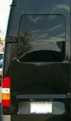 Driver Rear Cargo Door Solid Glass Window Sprinter Van 03-06